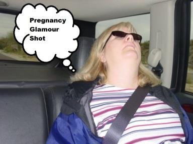 Pregnancyglamour shot