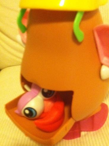 Mrs. Potato Head Junk