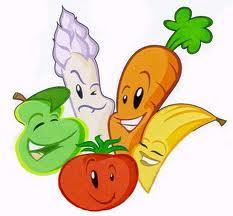 smiling veggies