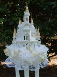 ivory tower wedding cake